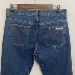 Calvin Klein flare leg jean size 9